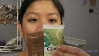 NEW Olay, L'oreal, & Iman BB cream REVIEW! COLOR SWATCHES! Thumbnail