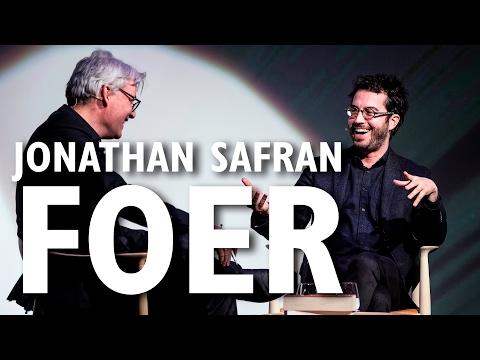 Jonathan Safran Foer - International Authors' Stage - The Black Diamond