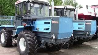 Новый трактор ХТЗ Т-150К 2017 года. Обзор