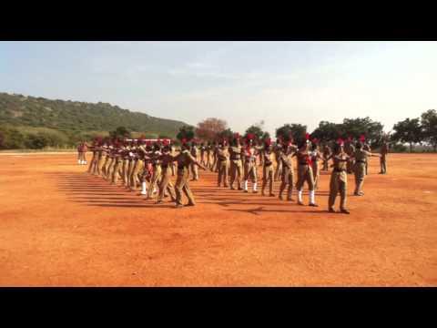 Kalasalingam university silent  drill sibi there...