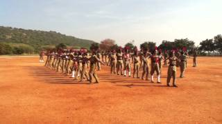 Kalasalingam university silent  drill sibi there...