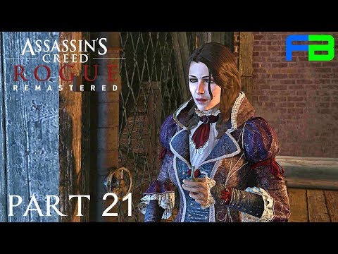 Caress of Steel - Assassin's Creed Rogue Remastered Gameplay: Part 21 - Xbox One X