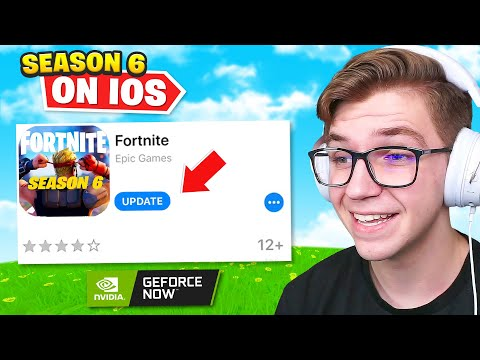 How To Play Fortnite Season 6 On IOS! (No PC Required)