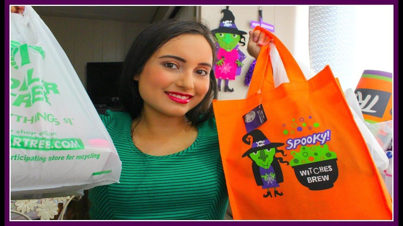 Dollar Tree 99 Cent Only Store Haul Halloween Goodies And More