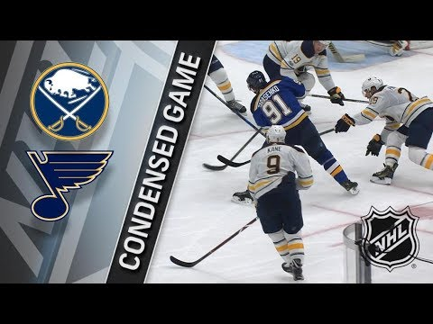 Buffalo Sabres vs St. Louis Blues – Dec. 10, 2017 | Game Highlights | NHL 2017/18. Обзор матча