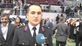 Bakan Soylu, Subay Adayı Öğrencilerin Diploma Törenine Katıldı Video