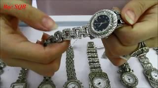 Top đồng hồ trống đồng bán chạy nhất Bạc SQB .