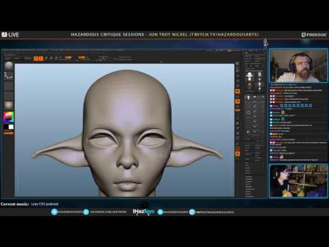 Jon Troy Nickel - 3D Sculpting for Figurine Production Broad