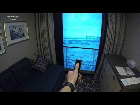 4k In Depth Tour Of Harmony Of The Seas Virtual Balcony
