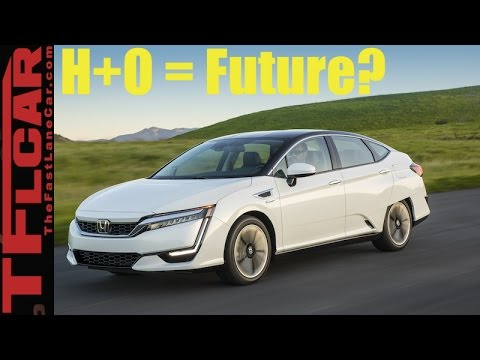2017 Honda Clarity Fuel Cell Sneak Peek Review: Is Hydrogen Power The Future?
