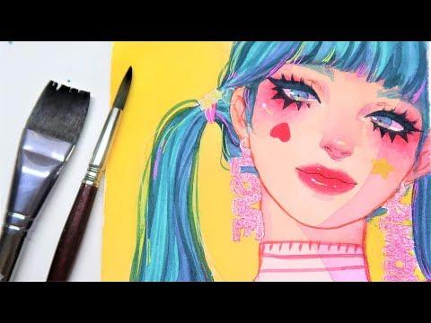 """Star"" Watercolor Speedpaint"