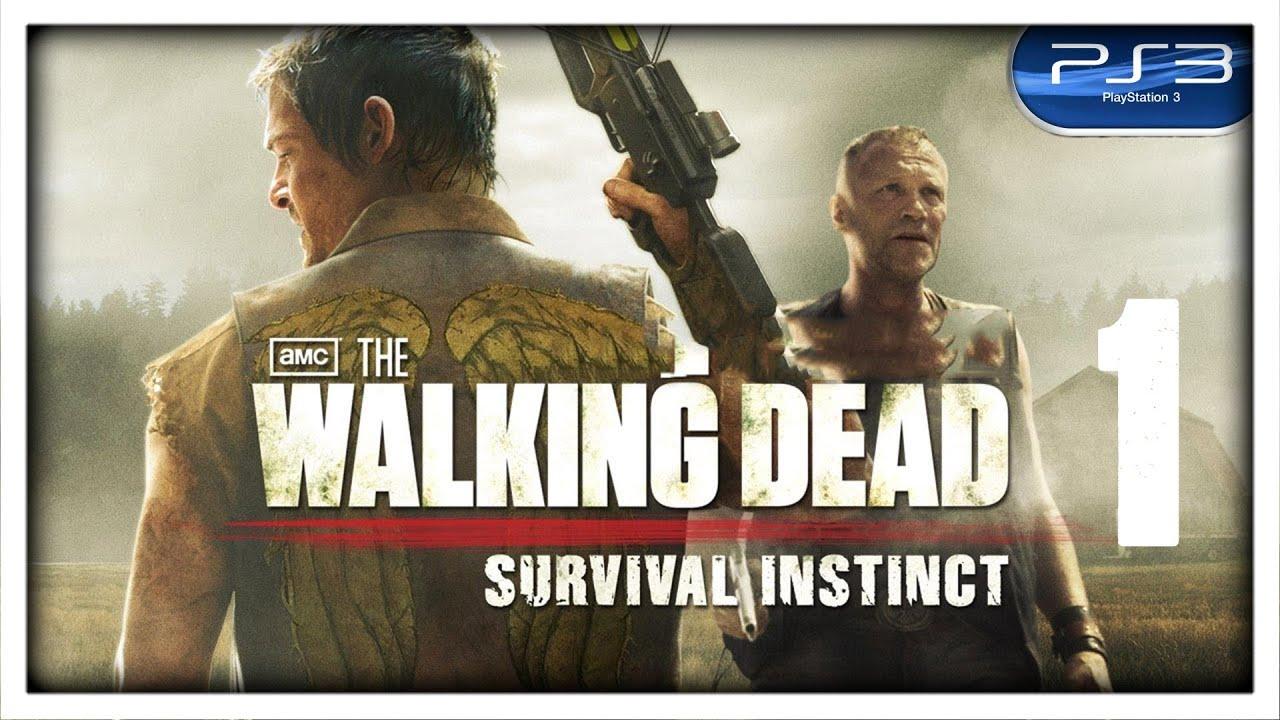 Lo siento hermano *THE WALKING DEAD - SURVIVAL INSTINCT*  [PS3 en 2.0] Parte #1  HD 1080P TALOS