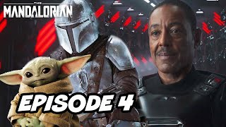 Star Wars The Mandalorian Season 2 Episode 4 - TOP 10 WTF and Movies Easter Eggs