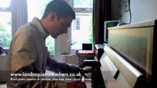 Jazz Piano - Pennies From Heaven