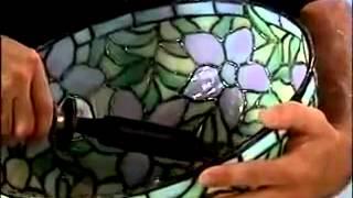 видео Техника фьюзинг - изготовление витражей методом спекания.