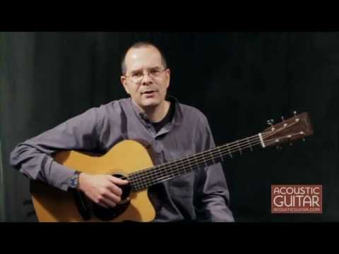 Bach Minuet in D Minor Arranged in DADGAD from Acoustic Guitar