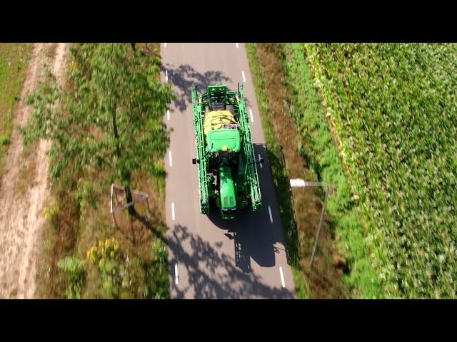 John Deere - PowrSpray - Pulverizadores - Agitación ajustable y asistida