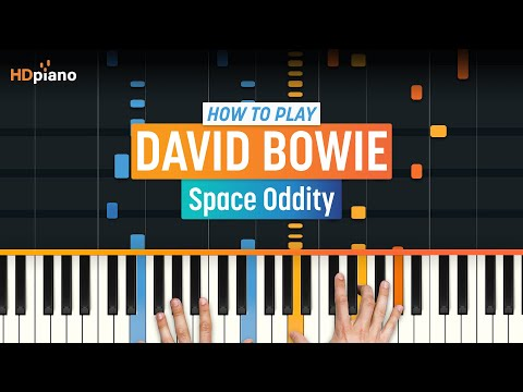 """How To Play """"Space Oddity"""" by David Bowie   HDpiano (Part 1) Piano Tutorial"""
