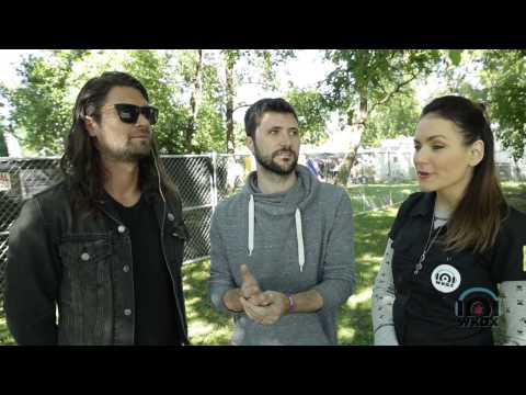 Taking Back Sunday - Interview with 101WKQX - Riot Fest 2014