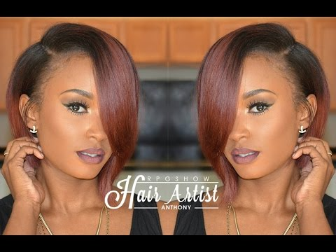 Lace Wig Customized Color & Styled By RPGSHOW Hair Stylist Anthonycuts