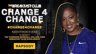 Rapsody Steps Up To Donate For The Culture #Change4Change