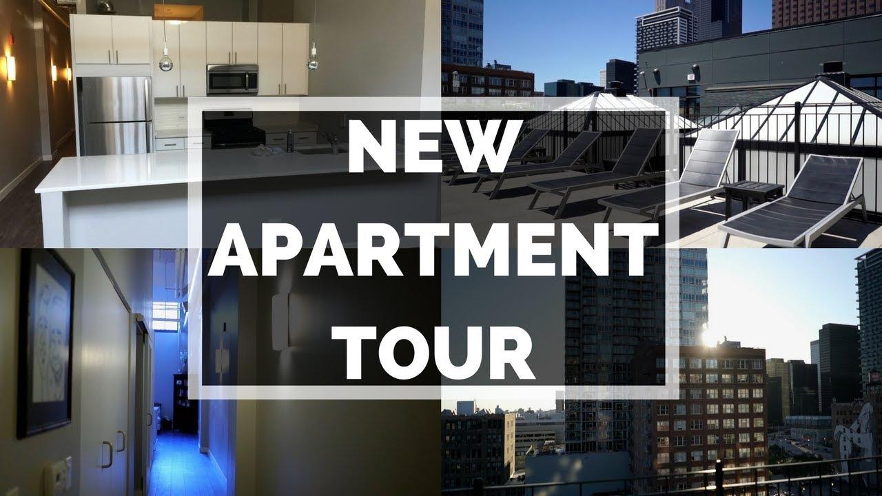 Take A Peak Inside My Loft Style Apartment // Chicago Luxury Apartment Tour