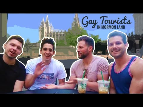 GAY TOURISTS IN MORMON LAND Ft. Husband & Husband | Dads Not Daddies