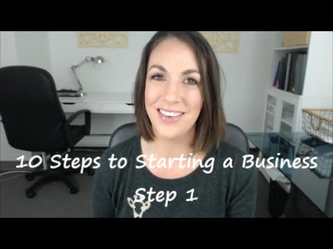 10 Steps to Starting a Business: Step 1 The Business Plan – All Up In Yo' Business