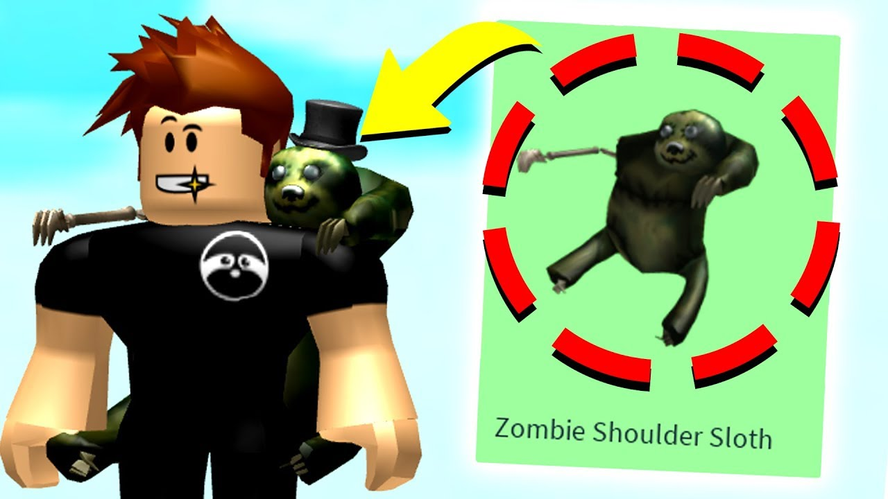 how to get shoulder zombie roblox