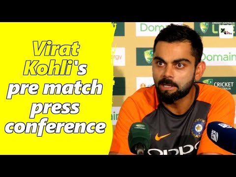 Watch: Virat Kohli's full pre-match press conference