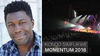 Kondo Simfukwe Speaking at Momentum Youth Conference 2018