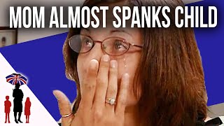Mom Thinks Spanking and Putting Soap in Child's Mouth is Right | Supernanny