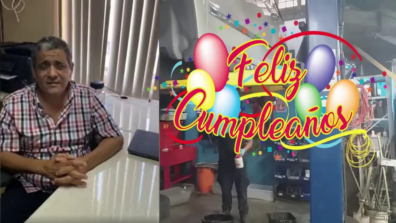 Feliz Cumpleaños para RUBEN MARISCAL de TECNOLOGÍA COMPARTIDA!!