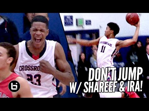 Shareef O'Neal & Ira Lee ABUSE THE RIM All Game Long! Shareef Dunks On Defender!