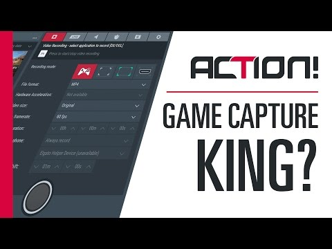 Mirillis Action! 2.5.1 - The King of Simple Game Capture Software?