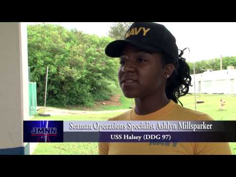USS Halsey Makes Guam Port Call, Sailors Volunteer in Community