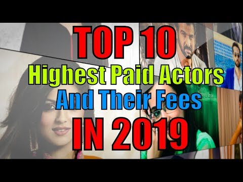 Top 10 Highest Paid Tv Actors And Their Fees In  2019