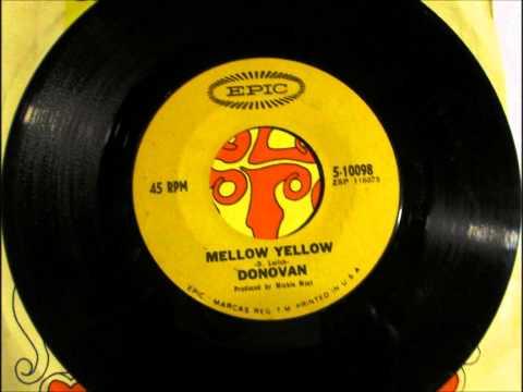 Mellow Yellow , Donavan , 1966 Vinyl 45 RPM