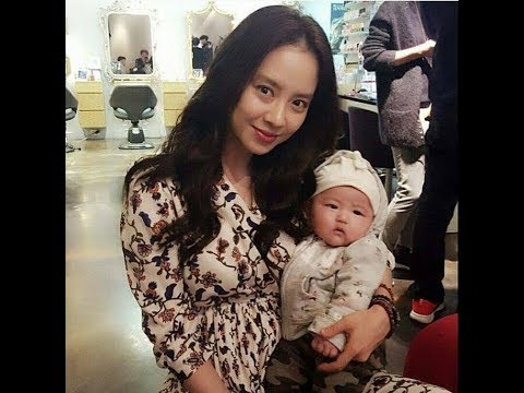 Song Ji Hyo ❤Mommy Ji Hyo and Kang Baby ~sweet moment