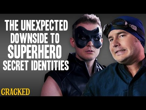 The Unexpected Downside To Superhero Secret Identities  - Action Team