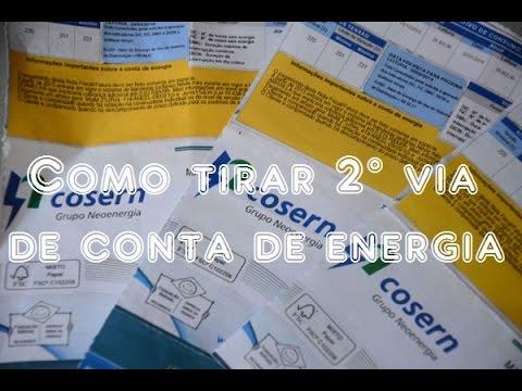 Como Tirar a 2° Via de Conta de Energia online.