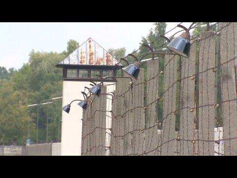 German Chancellor Visits Dachau Death Camp