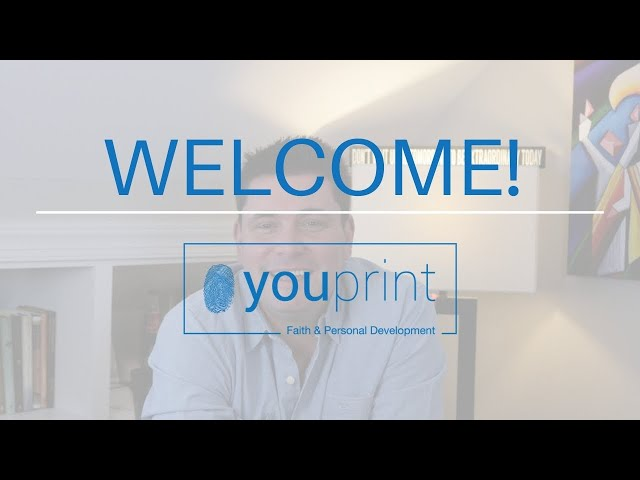 Welcome To The You Print YouTube Channel!