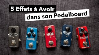Gambar cover Mes 5 Pédales Favorites pour Basse