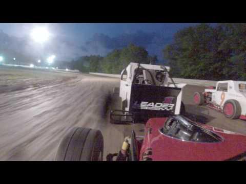 deerfield raceway dwarf car classics heat race 6-11-16