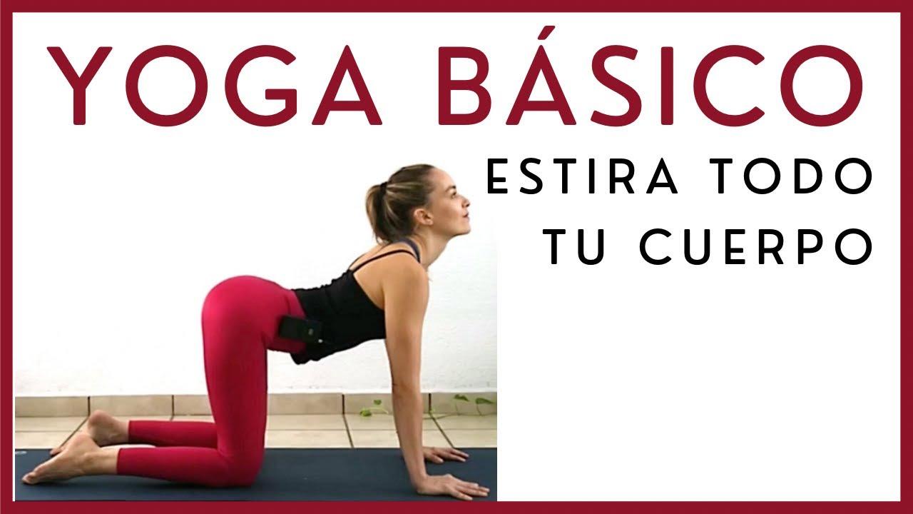 Yoga para estirar TODO el cuerpo!!!