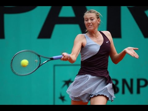 Sharapova VS Flipkens Highlight 2010 R2