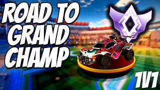 NEW SEASON GRIND   1v1 Road to Grand Champion / Top 100 (Rocket League Gameplay)