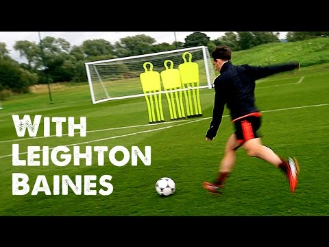 Learn Free Kicks with Leighton Baines