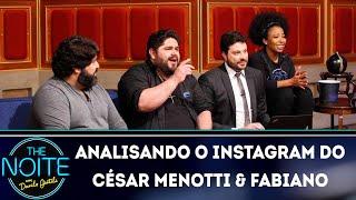 Baixar Analisando o Instagram do César Menotti & Fabiano | The Noite (17/04/19)